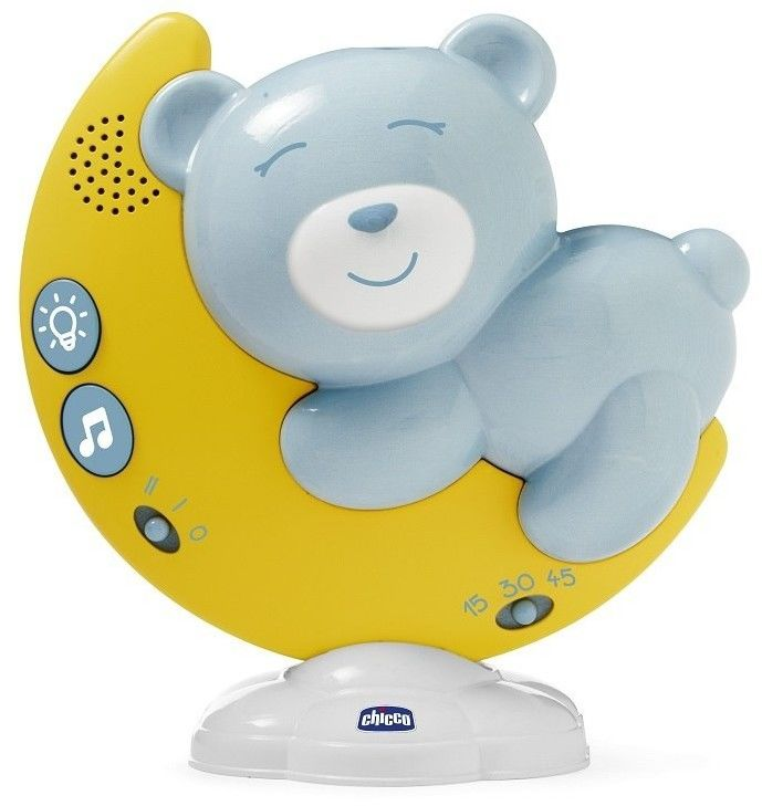 Chicco First Dreams - Panel z projektorem na łóżeczko Limited Edition niebieski 98282