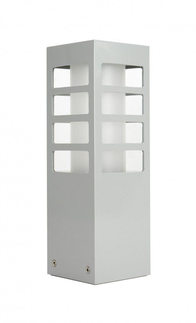 SU-MA RADO III 3 AL lampa stojąca srebrna E27 IP54 25cm
