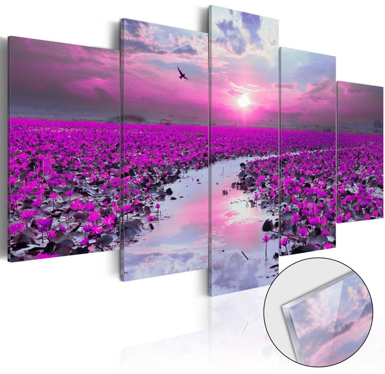 Obraz na szkle akrylowym - rzeka magii [glass]