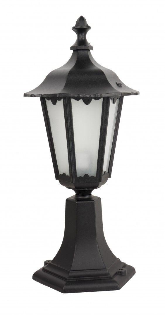 SU-MA Retro Midi K 4011/1/M lampa stojąca czarna E27 IP43 45cm