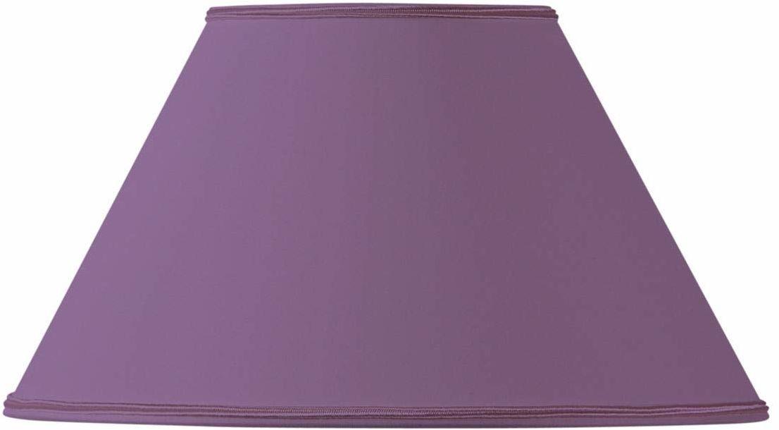 Klosz lampy w kształcie wiktoriańskim, średnica 45 x 19 x 27 cm, fioletowy