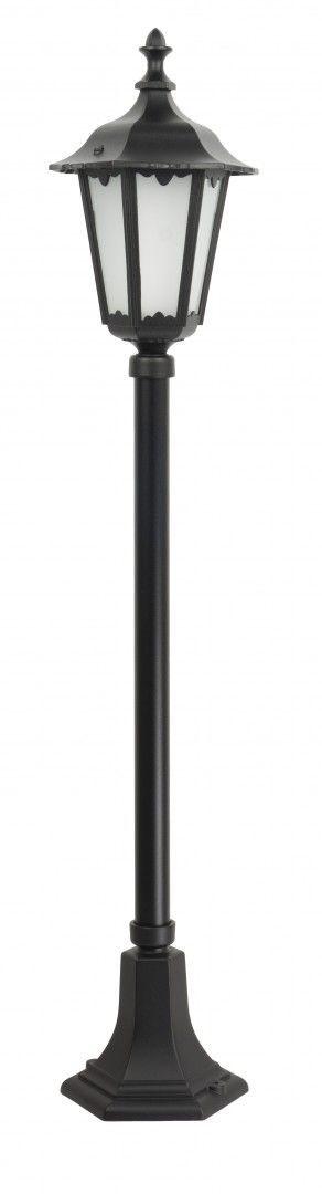 SU-MA Retro Midi K 5002/2/M lampa stojąca czarna E27 IP43 106cm