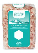 Sól himalajska różowa GRUBO MIELONA 600g Crystalline Planet