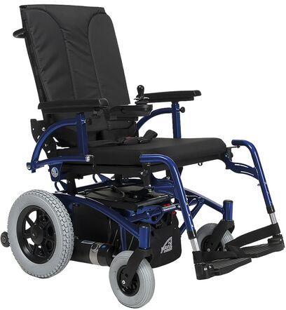 Wózek inwalidzki pokojowo-terenowy z napędem elektrycznym na tylne koła Navix RWD Vermeiren