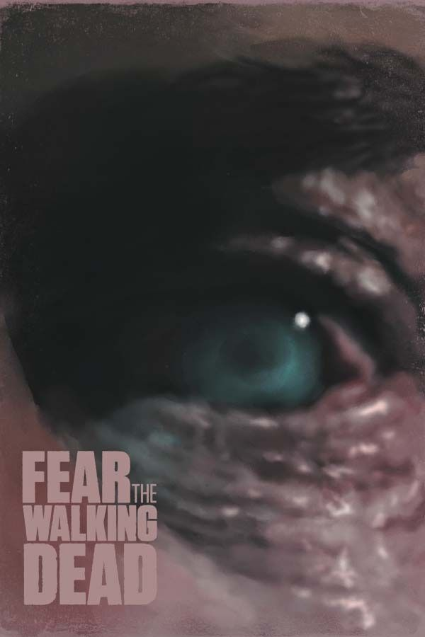 Fear the walking dead - plakat premium wymiar do wyboru: 59,4x84,1 cm