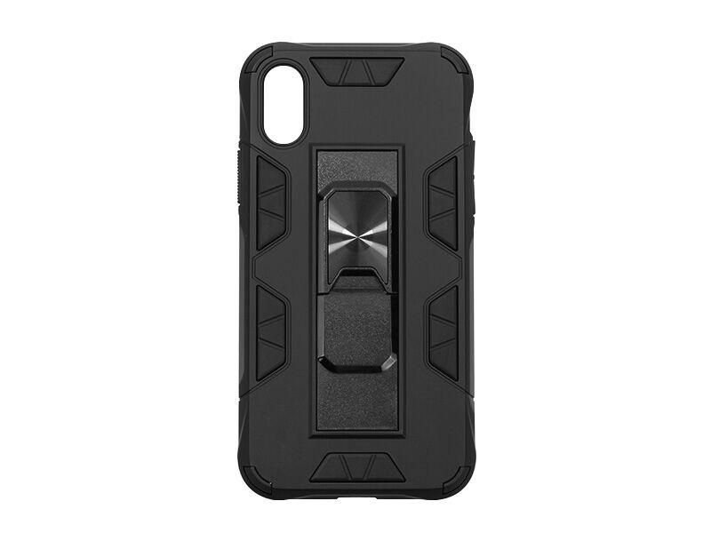 Apple iPhone X - etui na telefon Forcell Defender - czarny