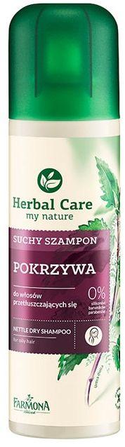 HERBAL CARE POKRZYWA suchy szampon 180ml