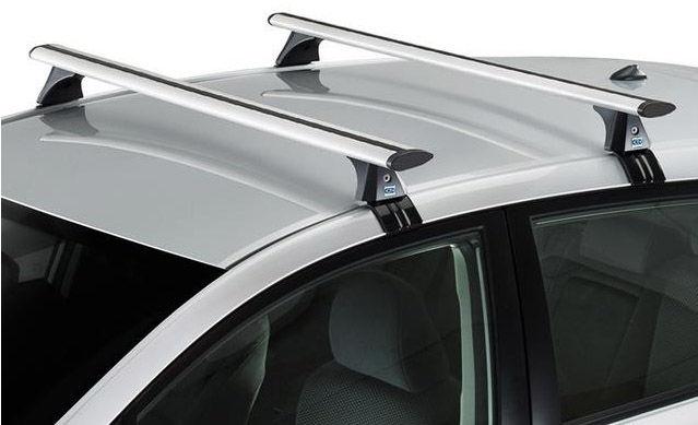 CRUZ Airo Bagażnik dachowy aluminiowy Suzuki Swift III 5d (935-604 + AiroT108)