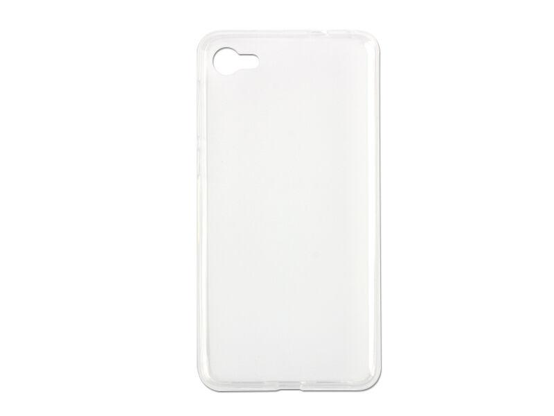 Alcatel A5 LED - etui na telefon FLEXmat Case - biały