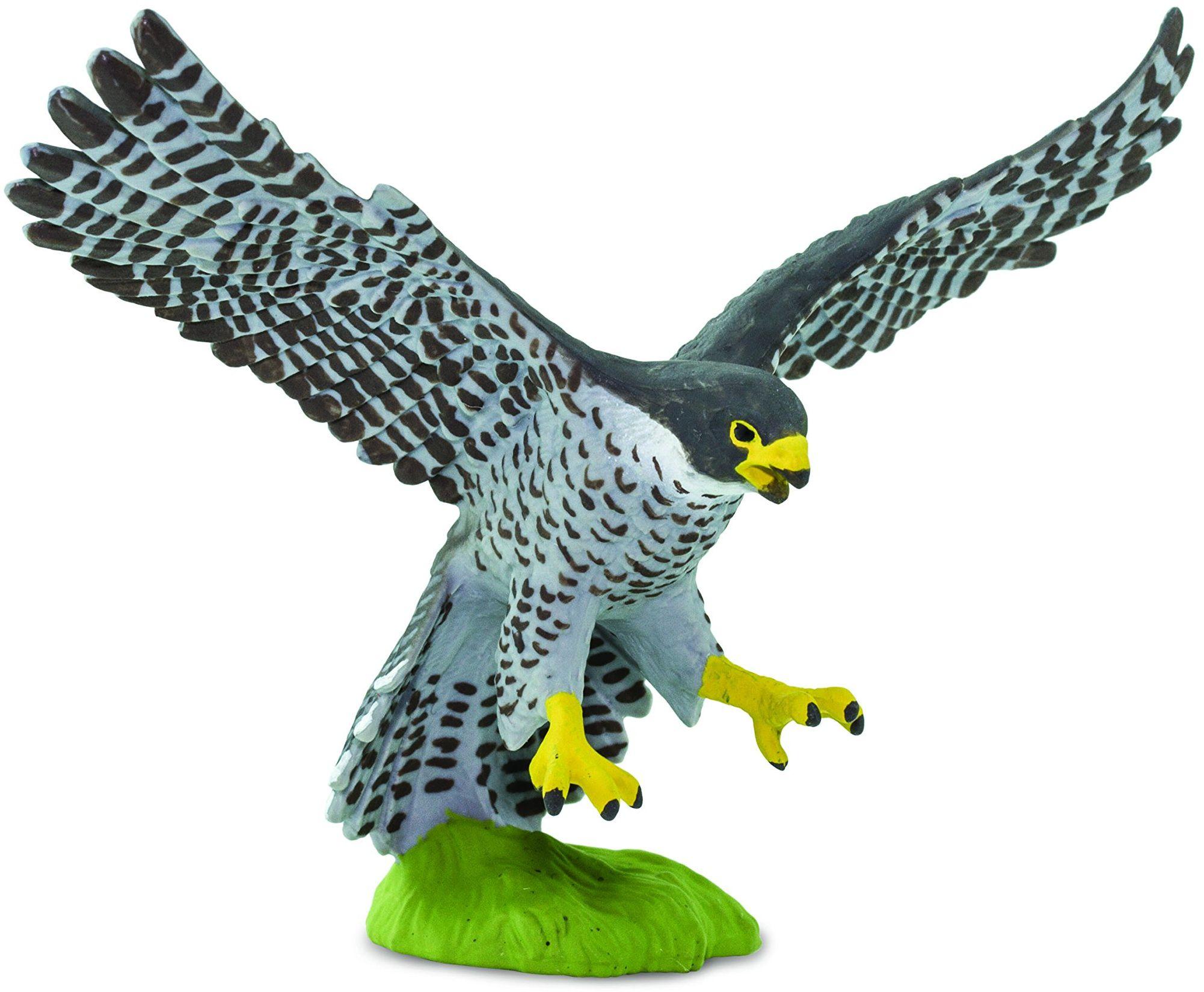 Safari 100094 Wow Birds Peregrine Falcon Miniatura