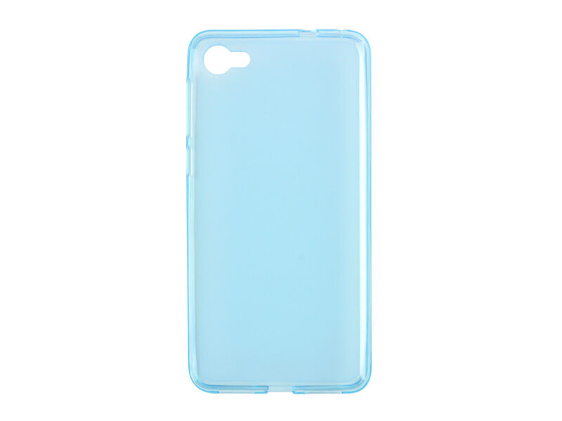 Alcatel A5 LED - etui na telefon FLEXmat Case - niebieski