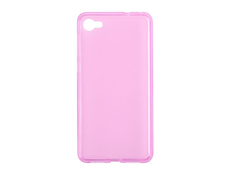 Alcatel A5 LED - etui na telefon FLEXmat Case - różowy