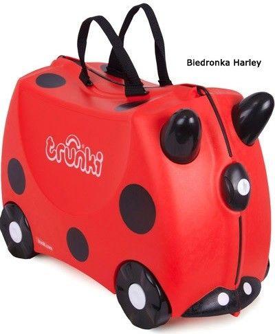 Jeżdżąca walizeczka Trunki Biedronka Harley