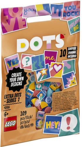 LEGO Dots 41916 Dodatki DOTS seria 2
