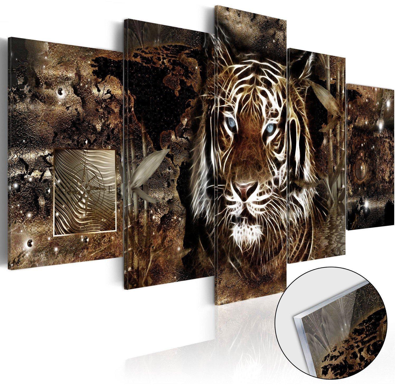 Obraz na szkle akrylowym - strażnik dżungli [glass]