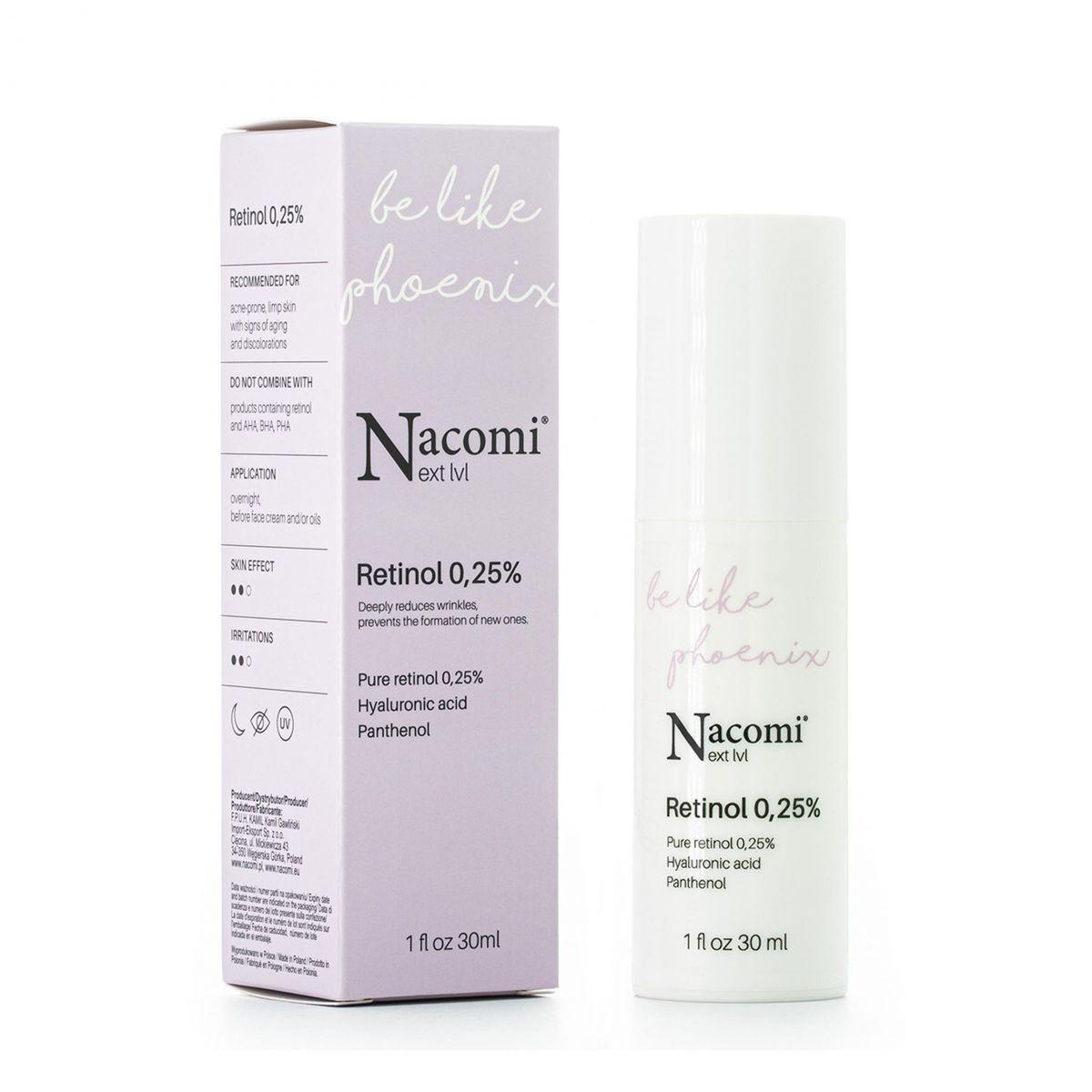 Serum Retinol 0,25% - 30ml - Nacomi