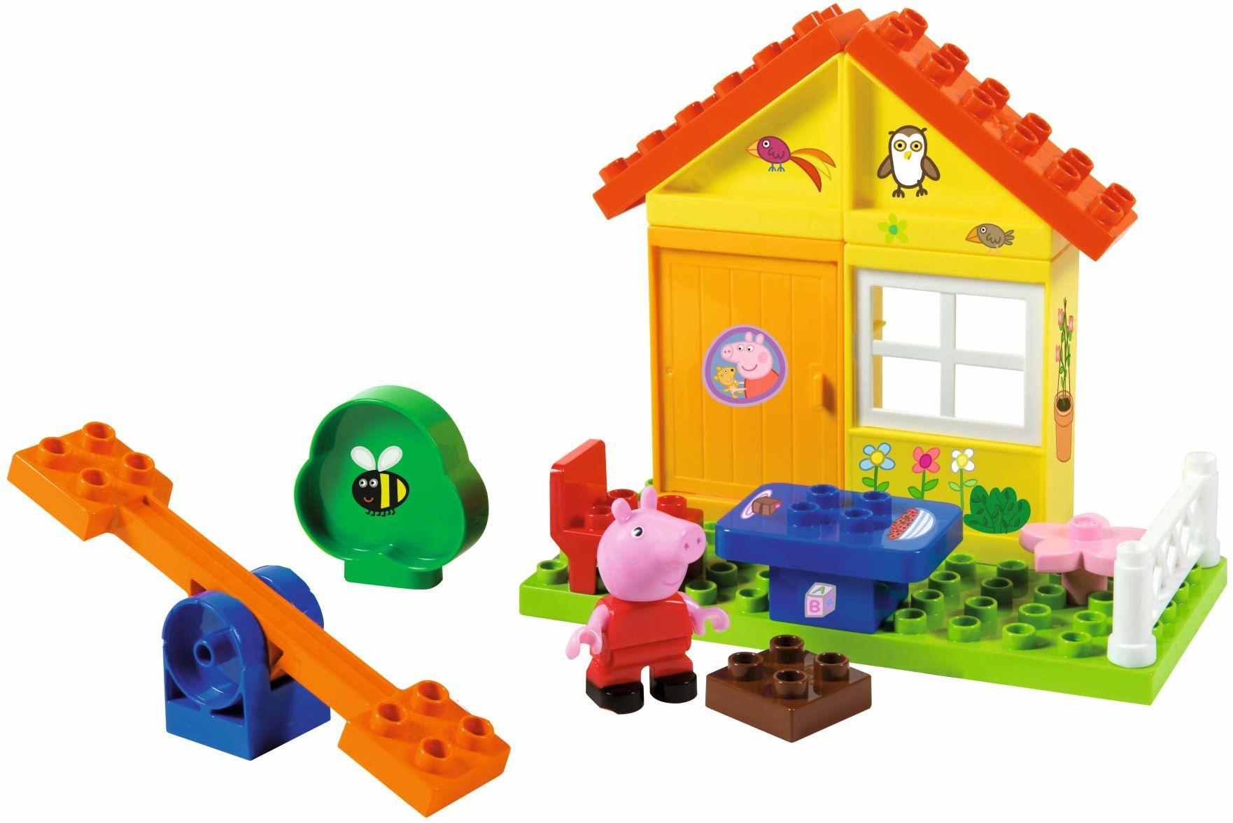 Simba Peppa świnia ogród dom wanna zestawy budowlane