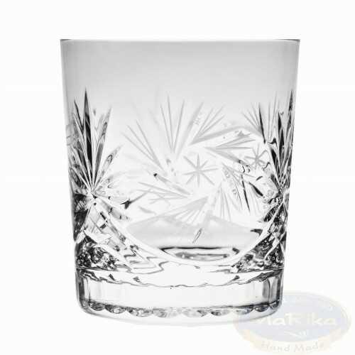 Kryształowe szklanki do whisky 280ml Młynek 6 sztuk