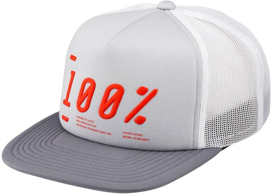 100% czapka z daszkiem TRANSFER trucker hat grey ,841269164337