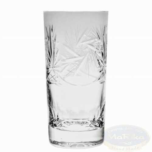 Kryształowe szklanki do wody i drinków 320ml Młynek 6 sztuk