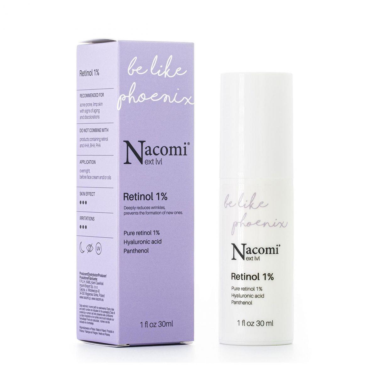 Serum Retinol 1% - 30ml - Nacomi