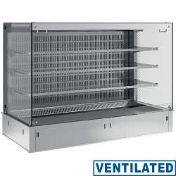 Regał chłodniczy 3-półki wentylowany 5x GN 1/1y 230V -1  +7  1780x700x(H)1235mm