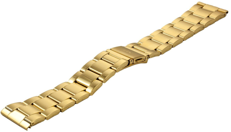 Bransoleta stalowa do zegarka 22 mm BR-120/22 Gold