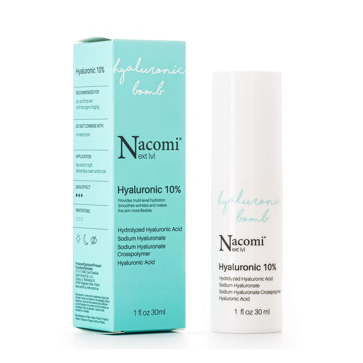 Serum kwas hialuronowy 10% - 30ml - Nacomi