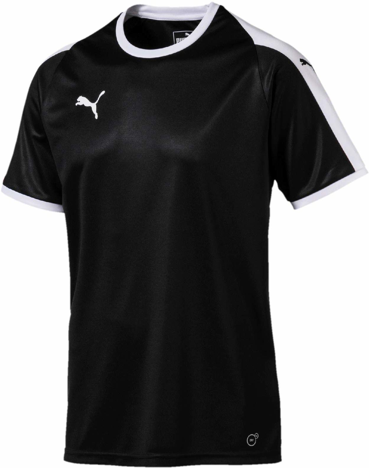 Puma Liga Jersey Jersey Jersey czarny Puma Black-puma White L