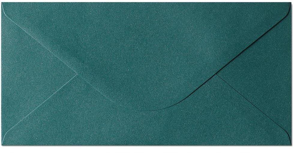 Koperta Pearl zielony DL 10 sztuk w opakowaniu Argo 280144 Rabaty Porady Hurt Autoryzowana