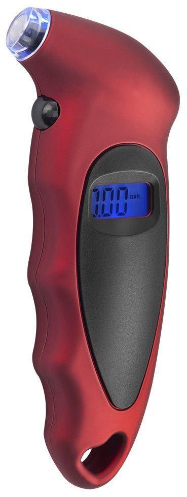 Elektroniczny Miernik Ciśnienia Powietrza Opon REDATS - Czerwony