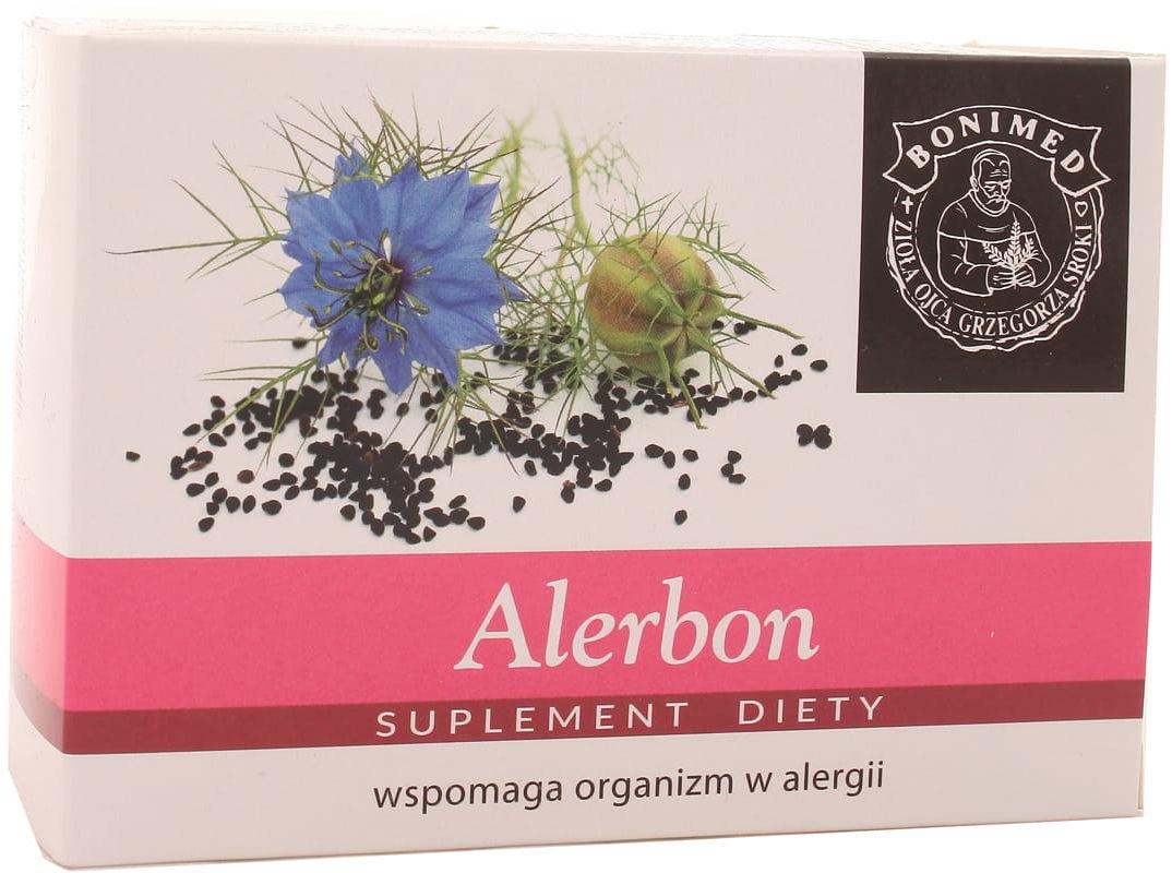 Alerbon czarnuszka siewna 500mg - Bonimed - 60kaps