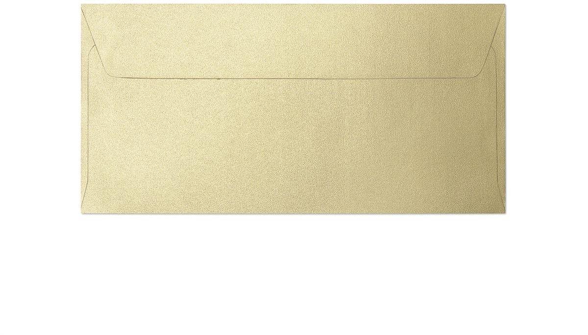 Koperta Pearl złoty DL 10 sztuk w opakowaniu Argo 280115 Rabaty Porady Hurt Autoryzowana