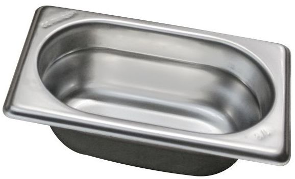 Gastropojemnik GN 1/9 gł. 6,5 cm ze stali nierdzewnej