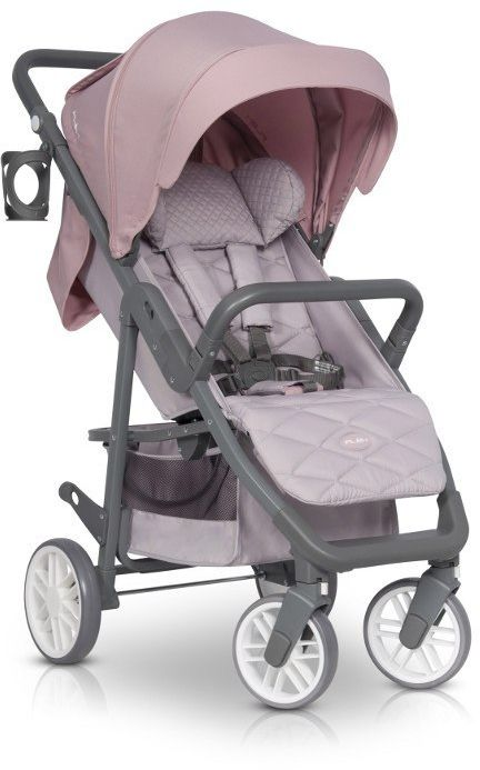 Wózek spacerowy Flex Powder Pink EURO-CART