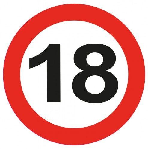 Zaproszenia na 18 urodziny Znak