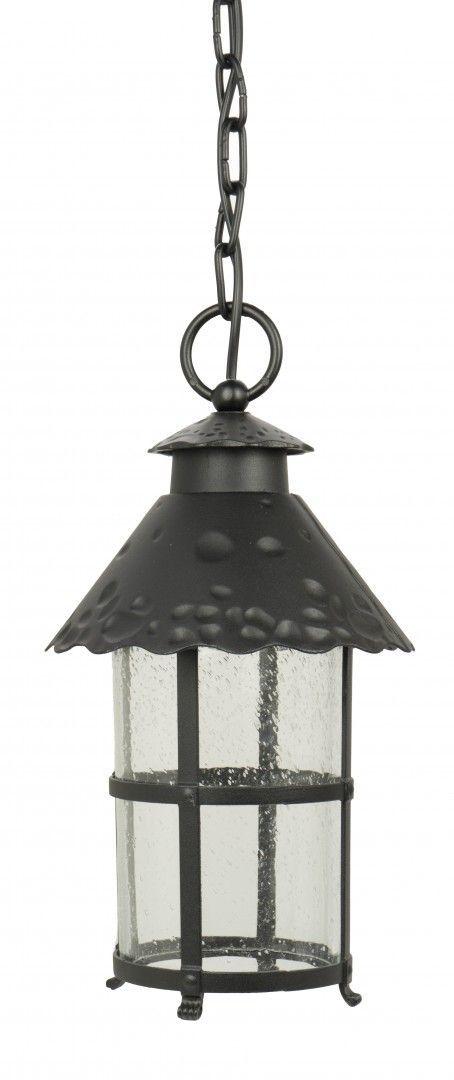 SU-MA Toledo K 1018/1/R lampa wisząca czarna E27 IP23