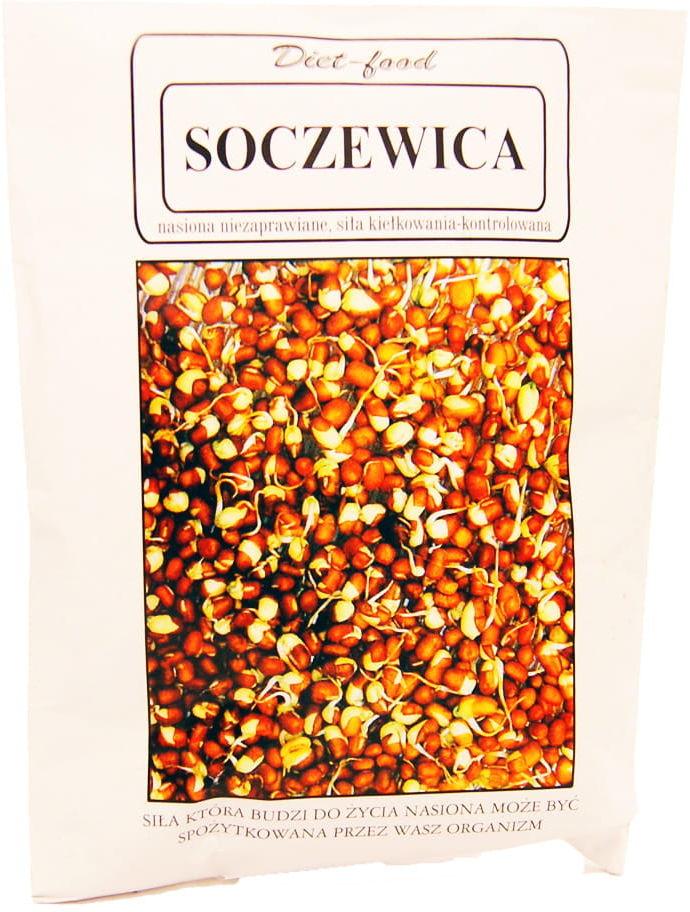 Nasiona soczewicy na kiełki - Diet-food - 160g