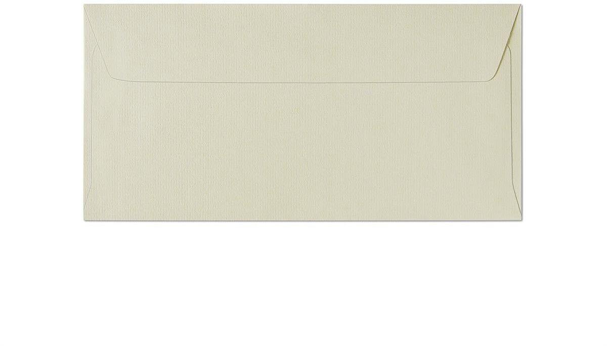 Koperta Prążki kremowy DL 10 sztuk w opakowaniu Argo 280110 Rabaty Porady Hurt Autoryzowana