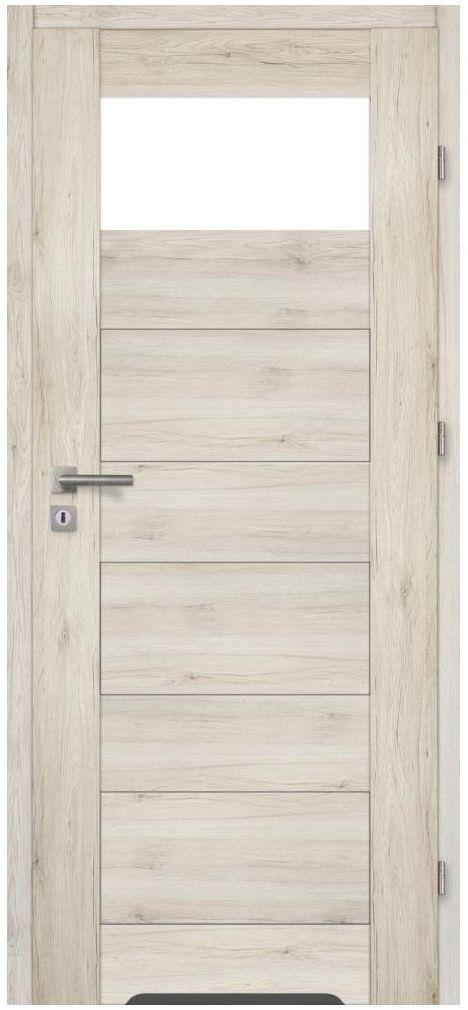 Skrzydło drzwiowe z podcięciem wentylacyjnym MATARO Dąb Montana 70 Prawe ARTENS