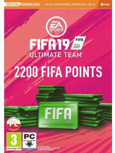 FIFA 19 - 2200 punktów PC - szybka wysyłka!