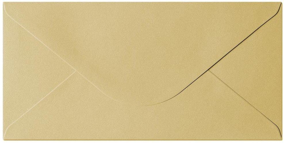 Koperta Pearl złoty DL 10 sztuk w opakowaniu Argo 280188 Rabaty Porady Hurt Autoryzowana