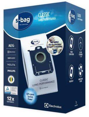 Worki ELECTROLUX E201SMCC S-bag Classic Long Performance - Megapack + 4 Saszetki Zapachowe>>Wygraj do 500 zł na karcie podarunkowej. Sprawdź