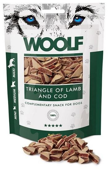 Woolf Lamb & COD Triangle 100g
