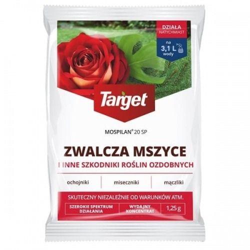 Mospilan 20 sp  zwalcza mszyce i inne szkodniki roślin  1,25 g target