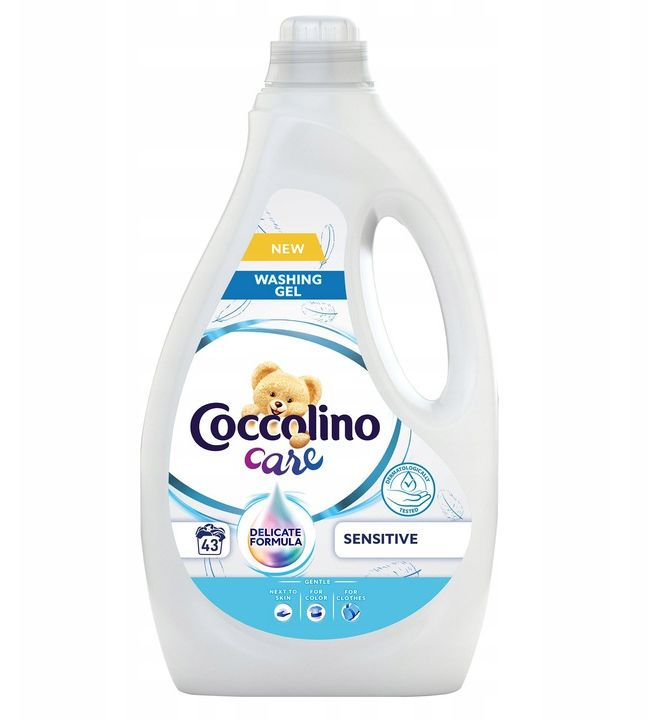 Coccolino Care żel do prania kolor Sensitive 1,72L