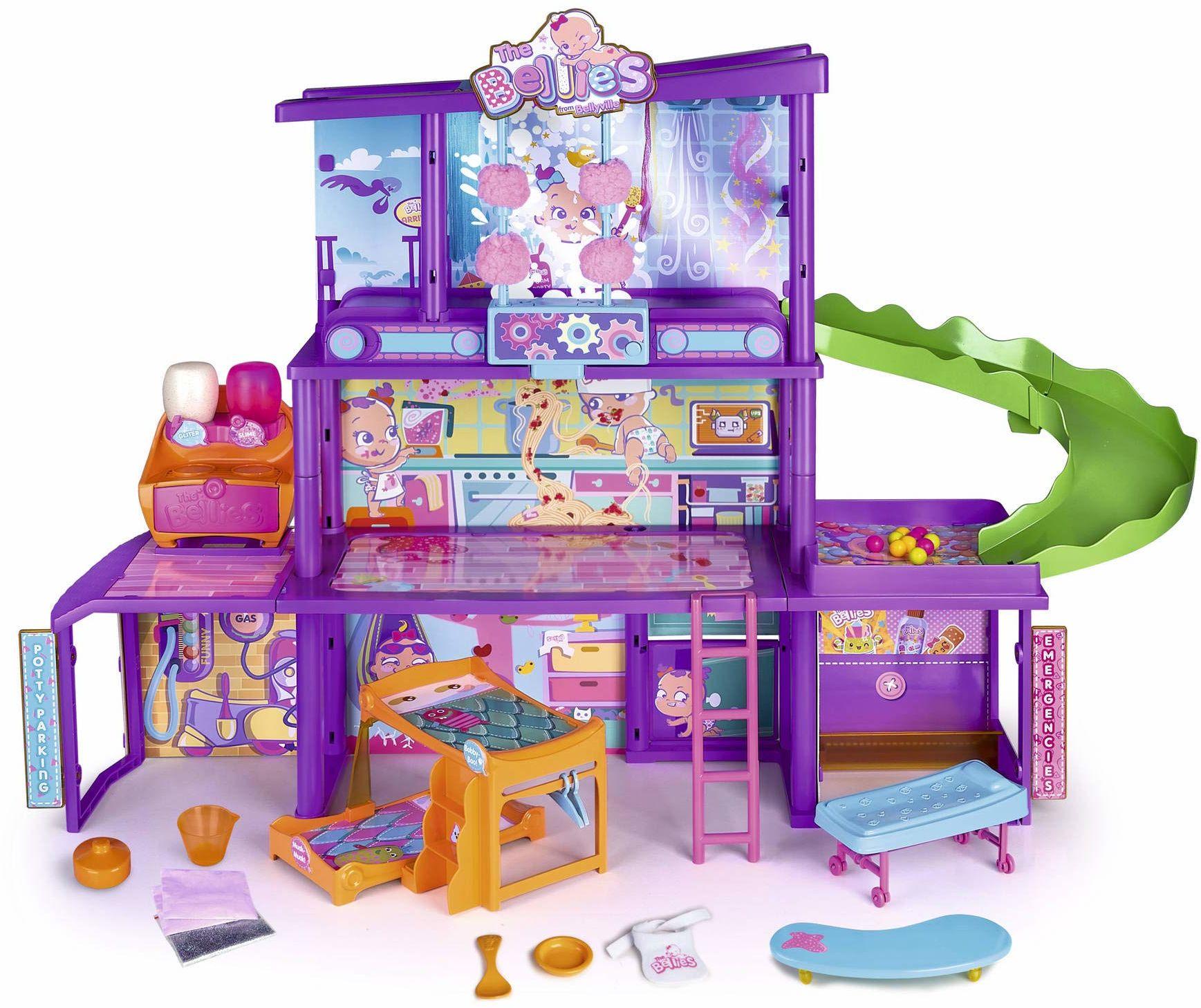 The Bellies - Bellie Dom, House of The Bellies dla dzieci od 3 lat, wielokolorowy, (Famosa 700015271)