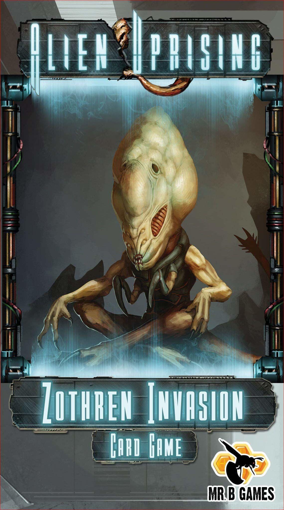 Mr. B Games MBG01021 - ZothrInvasion - An Alien Uprising stand alone card game