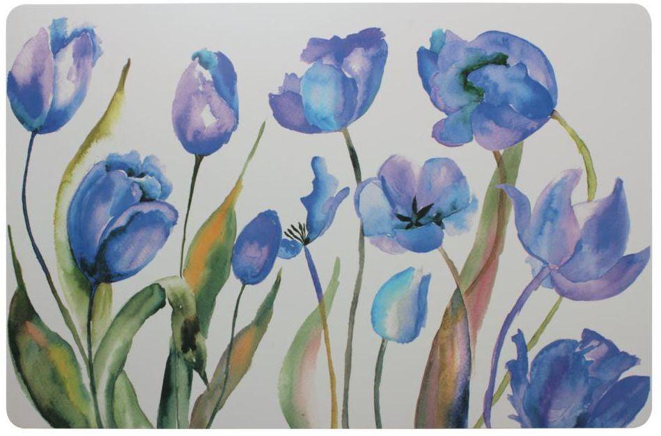 Podkładka na stół Tulipany prostokątna 43 x 28 cm
