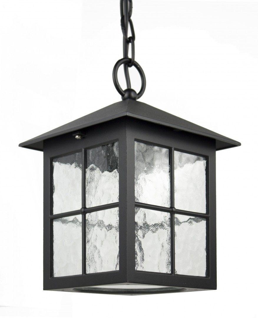 SU-MA Wenecja K 1018/1/KW lampa wisząca czarna E27 IP43